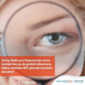 Akıllı Lens Ameliyatı Hakkındav