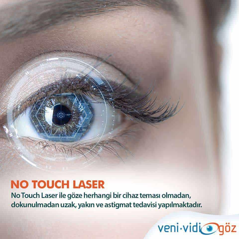 Göz Lazer Tedavisi No Touch Laser